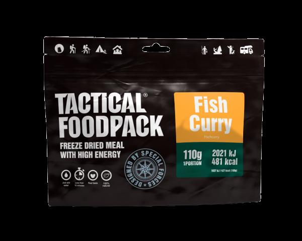 Tactical Foodpack Outdoor Nahrung Fisch-Curry mit Reis