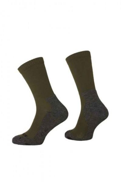 Rovince Zeckprotec Socken SHIELD green