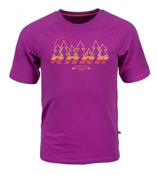 Anar Herren T-Shirt Baidi violett