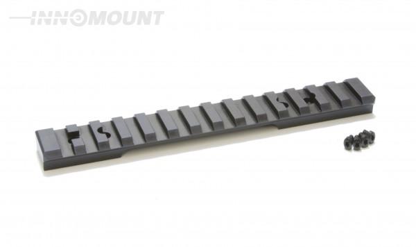 INNOMOUNT PICATINNY Montageschiene (Stahl) für BERGARA B14 LA / 20 MOA Vorneigung