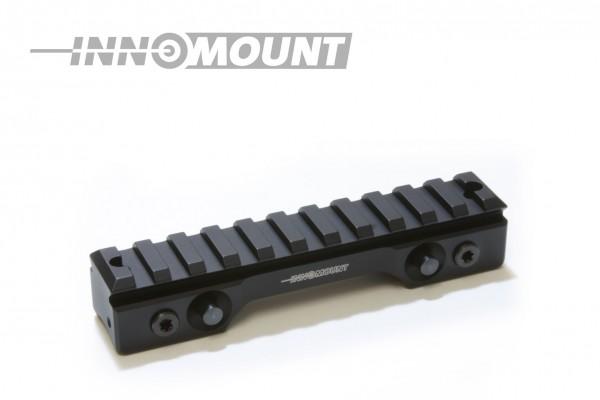 INNOMOUNT Schnellspannmontage einteilig SAUER 303(Gen.I -2019)mit 12cm PICATINNY Schiene/BH 20mm