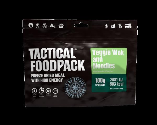 Tactical Foodpack Outdoor Nahrung Nudel-Wok mit Gemüse
