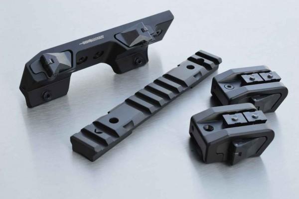 INNOMOUNT Montageschiene MULTIRAIL - Version PICATINNY+BLASER für HOWA 1500 SA / 20 MOA Vorneigung
