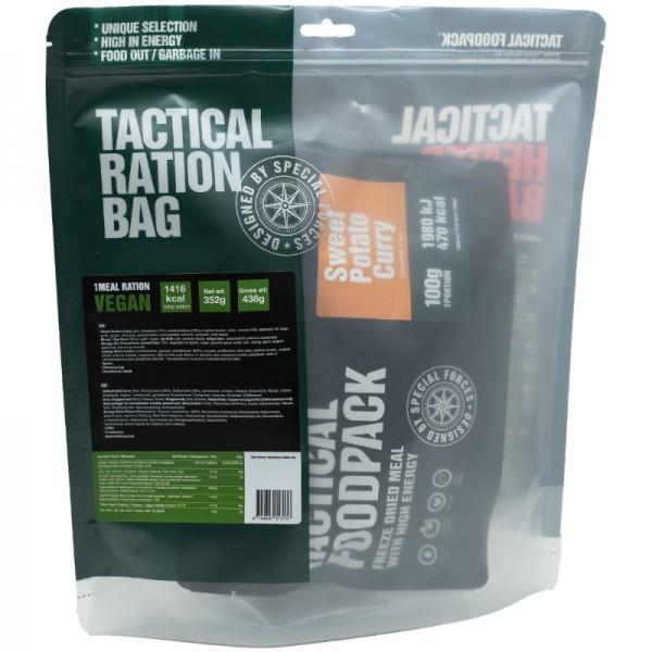 Tactical Foodpack Outdoor Nahrung 1-Gericht-Ration Vegan