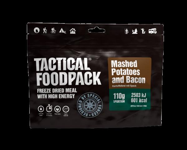 Tactical Foodpack Outdoor Nahrung Kartoffelbrei mit Speck