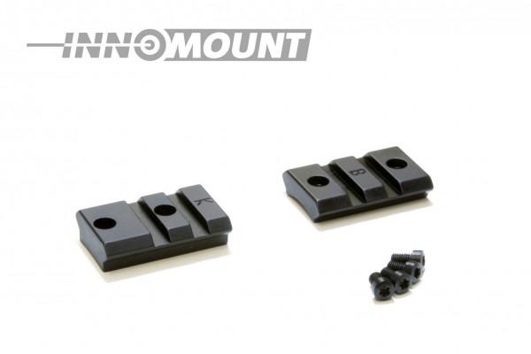 INNOMOUNT Weaver-Basen 2tlg. für REMINGTON 750/740/742/760