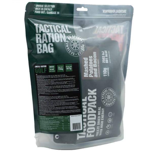 Tactical Foodpack Outdoor Nahrung 3-Gerichte-Ration Golf