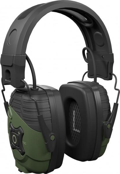 Isotunes Defy Sport Bluetooth-Gehörschutz dunkelgrün