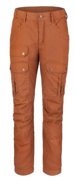 Anar Damen Outdoor-Hose Eco Light orange-braun CURVED