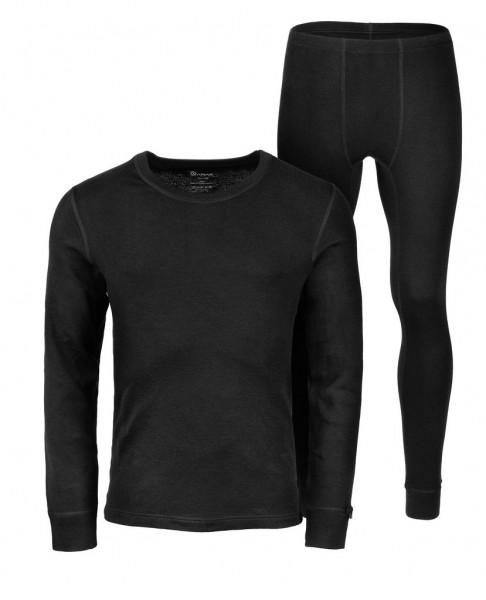 Anar Herren Merinowolle-Unterbekleidung Garra schwarz