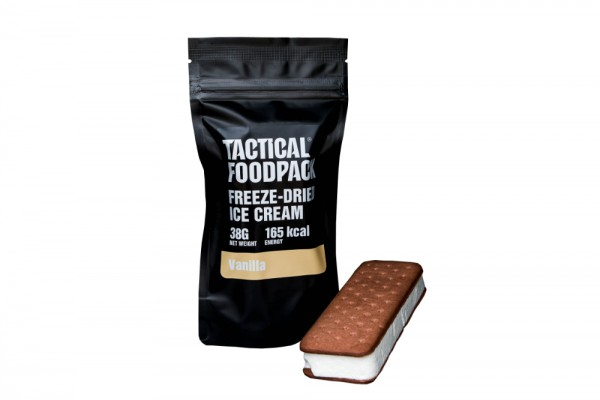 Tactical Foodpack Outdoor Nahrung Eiscreme Vanille