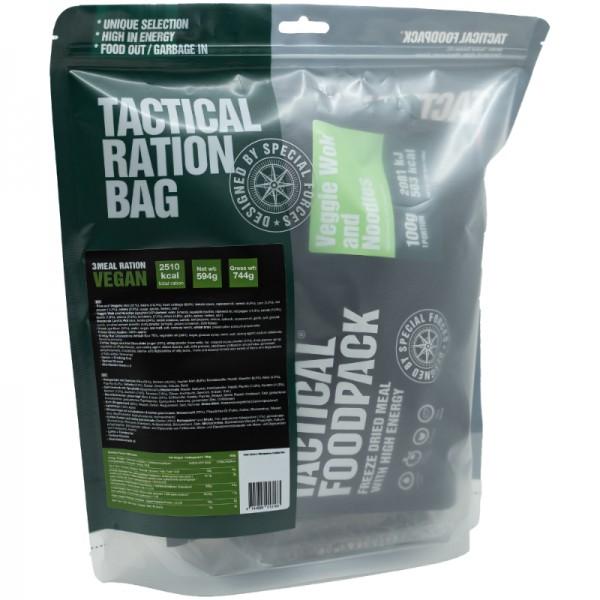 Tactical Foodpack Outdoor Nahrung 3-Gerichte-Ration Vegan