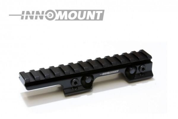 INNOMOUNT Sattelmontage BLASER mit 13,5cm PICATINNY Schiene / BH 20mm