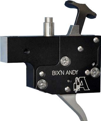 Bixn Andy Kugelabzug/Feinabzug für Tikka T3 / T3X mit Sicherung und Verschlussfang