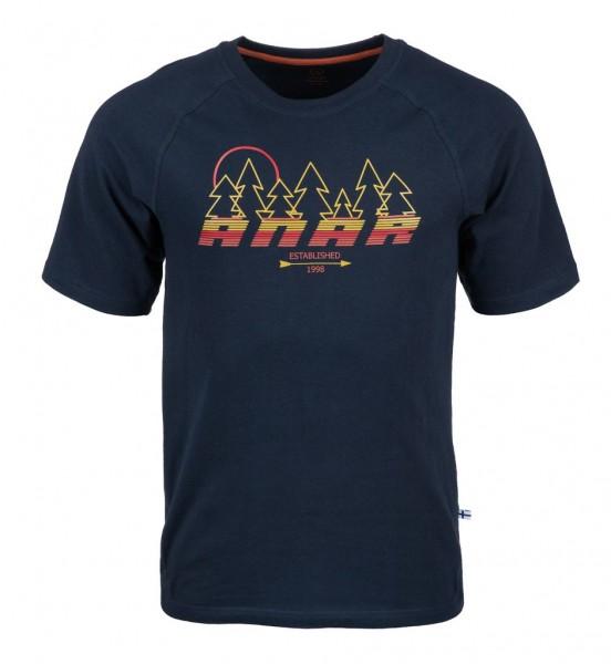 Anar Herren T-Shirt Baidi blau