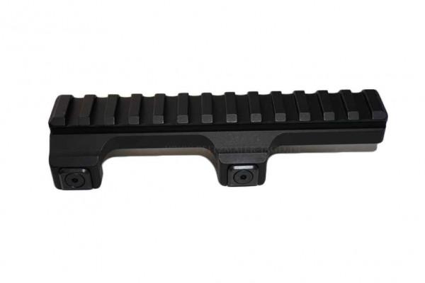 MAK Festmontage für H&K G3, HK33, MP5 mit PICATINNY -Schiene