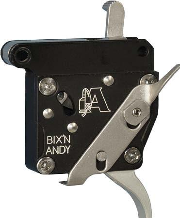 Bixn Andy Kugelabzug/Feinabzug für Remington 700 Competition mit Sicherung und Verschlussfang