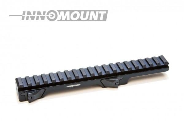 INNOMOUNT Schnellspannmontage einteilig TIKKA T3 mit Schiene PICATINNY-LONG 20cm / BH 20mm