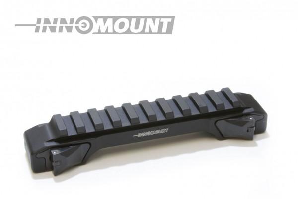 INNOMOUNT Schnellspannmontage einteilig TIKKA T3 mit 12cm PICATINNY Schiene / BH 20mm