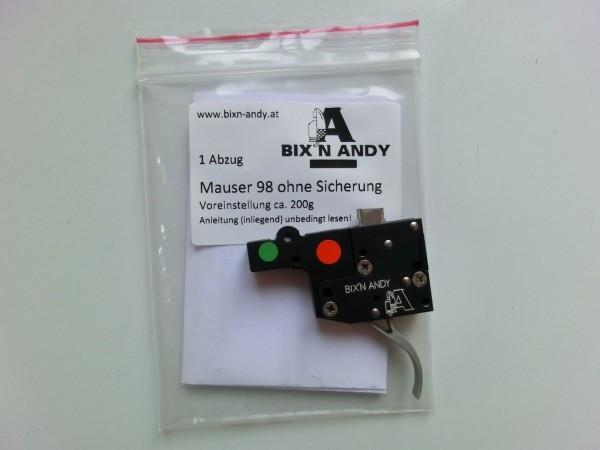 Bixn Andy Kugelabzug/Feinabzug für Mauser M98