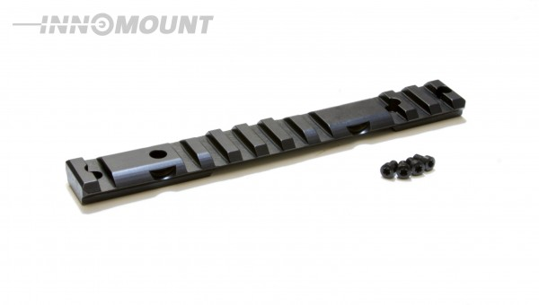 INNOMOUNT Montageschiene MULTIRAIL - Version PICATINNY+BLASER für MAUSER M18 / 20 MOA Vorneigung