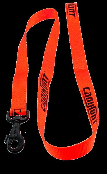 Canihunt Einfache Führleine ECO HUNTER Orange