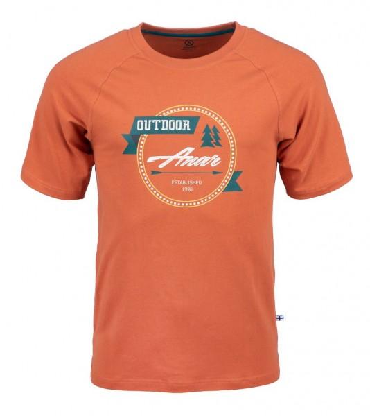 Anar Herren T-Shirt Baidi orange