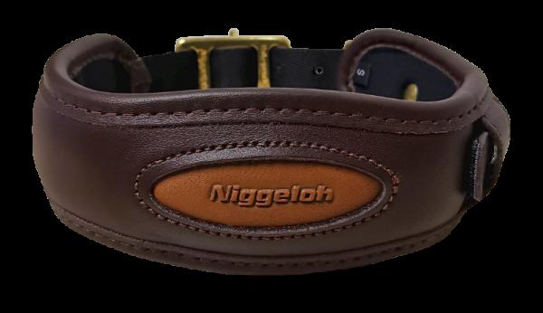 Niggeloh Leder-Halsung Premium Halsband