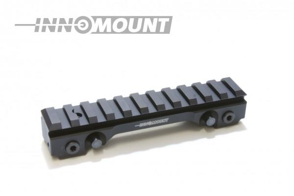 INNOMOUNT Schnellspannmontage SAUER 404/SAUER303(Gen.II)mit 12cm PICATINNY Schiene/BH20mm