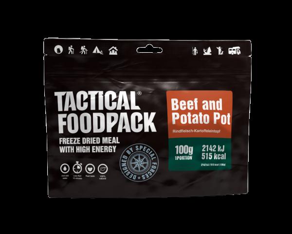 Tactical Foodpack Outdoor Nahrung Kartoffeltopf mit Rindfleisch