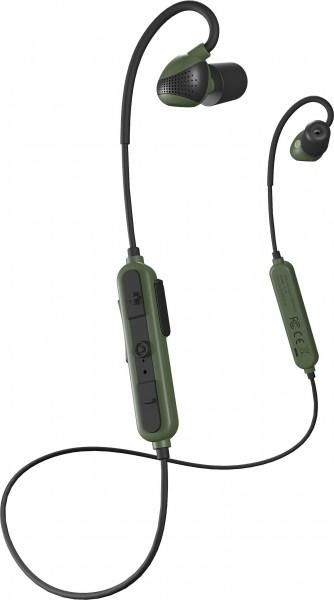 Isotunes Advance Sport Bluetooth-Gehörschutz dunkelgrün