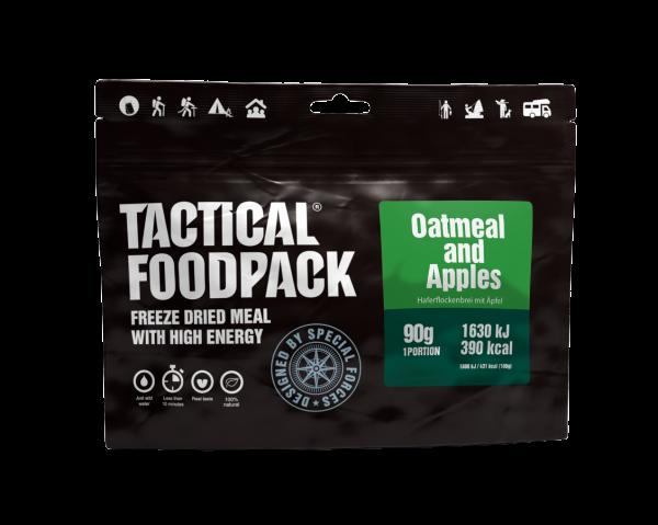 Tactical Foodpack Outdoor Nahrung Haferflockenbrei mit Apfel